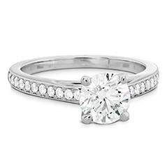 Simply Bridal Engagement Ring - Diamond Band