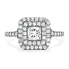 Transcend Double Halo Dream Engagement Ring