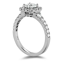 Transcend Premier Custom Halo Engagement Ring