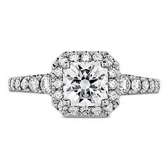 Transcend Premier Dream Halo Engagement Ring