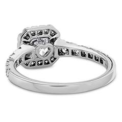 Transcend Premier Dream Halo Engagement Ring