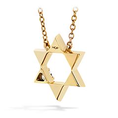 Virtuous Single Diamond Pendant