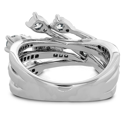 Aerial Cross Over Right Hand Ring