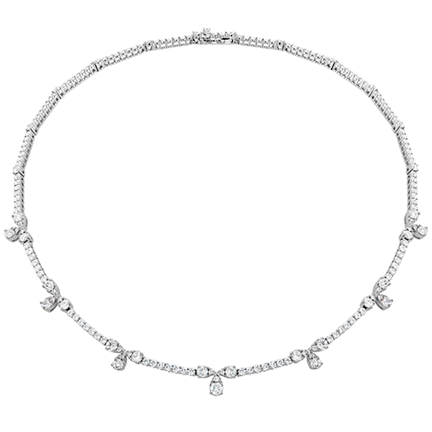 Aerial Diamond Line Necklace