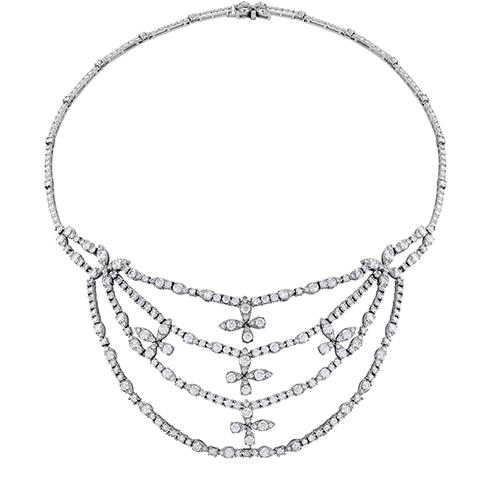 Aerial Diamond Necklace