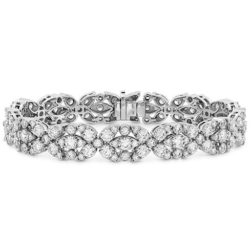 Aerial Double Row Diamond Bracelet