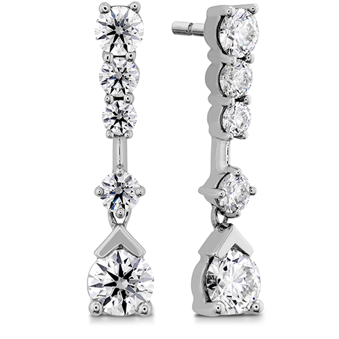 Aerial Elegance Line Earrings
