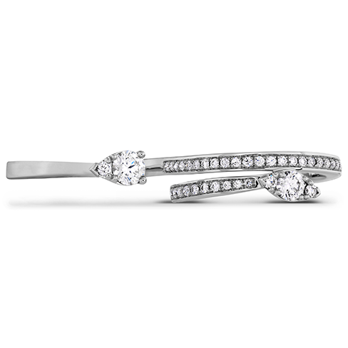 Aerial Teardrop Double Ring Diamond Intensive