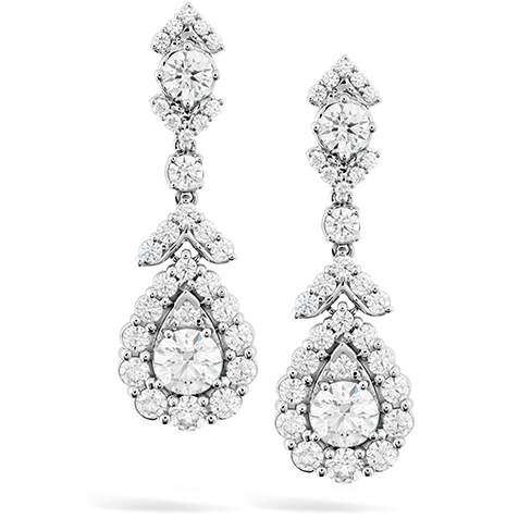 Aerial Victorian Halo Drop Earrings