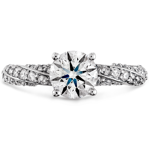 Atlantico Pave Engagement Ring
