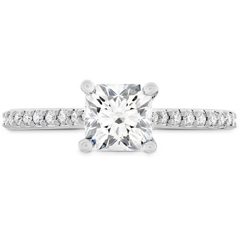Camilla DRM Engagement Ring Dia Band