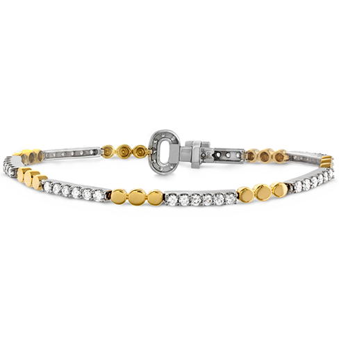 Copley Diamond Bar Line Bracelet