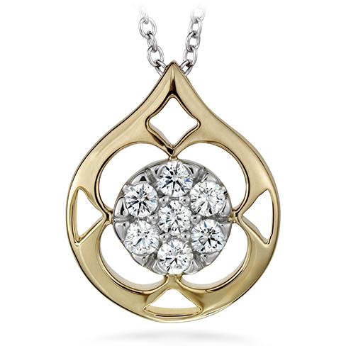 Copley Pave Pendant Necklace