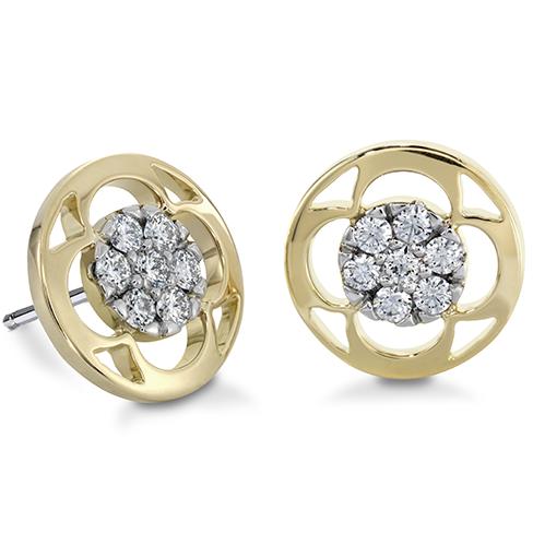copley pave stud earrings