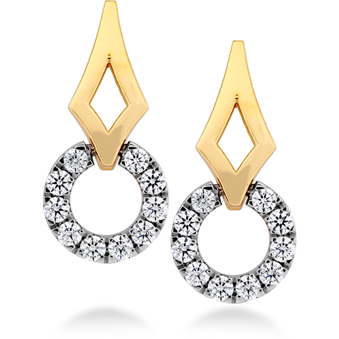 Copley Single Circle Earrings