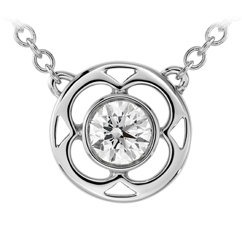 Copley Single Diamond Pendant