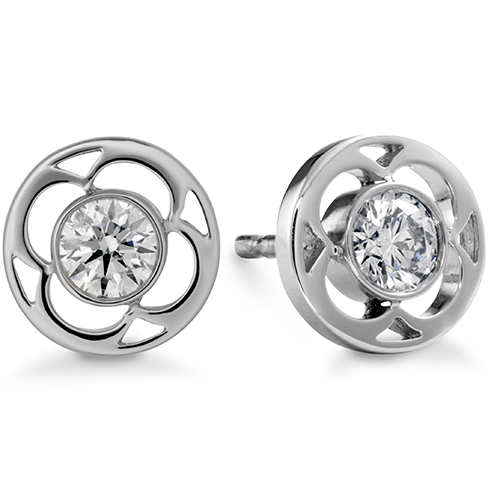 Copley Single Diamond Stud Earrings