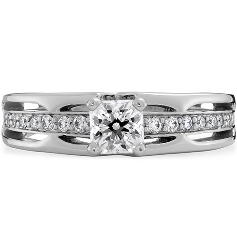 Copley Triple Row Dream Engagement Ring