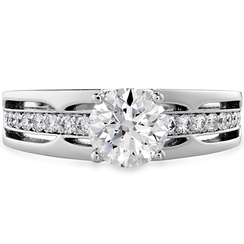 Copley Triple Row HOF Engagement Ring