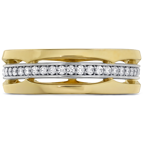 Copley Triple Row Wedding Band