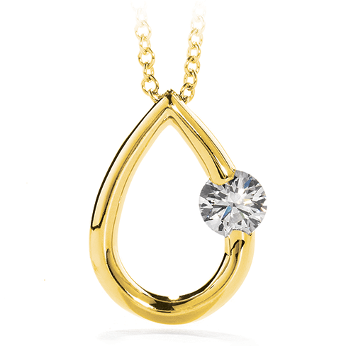 Debut Pear Pendant Small