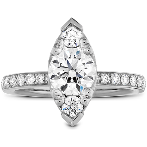 Desire Regal Engagement Ring Diamond Band