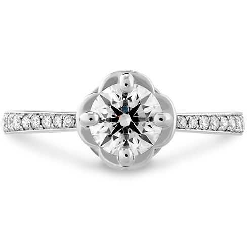 Desire Simply Engagement Ring   Diamond Band
