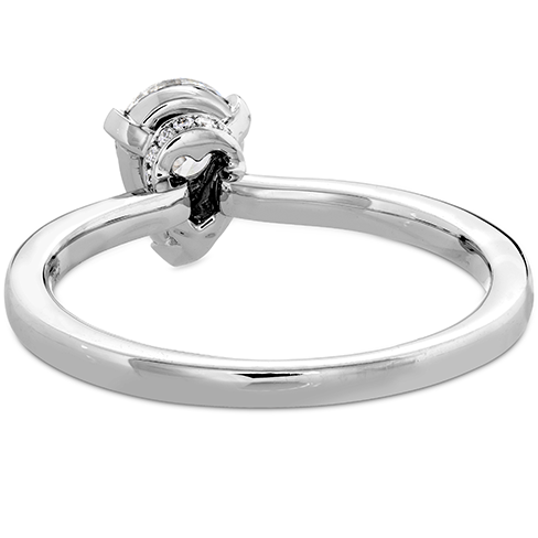 Desire Simply Teardrop Shape Engagement Ring