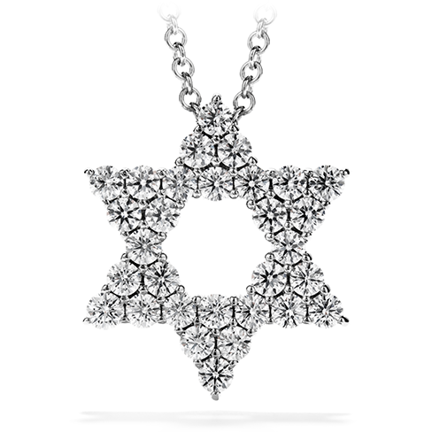 Faith Star of David Pendant