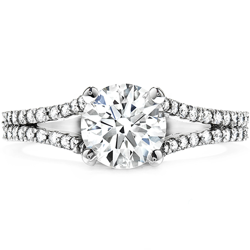 Felicity Split Shank Diamond Engagement Ring