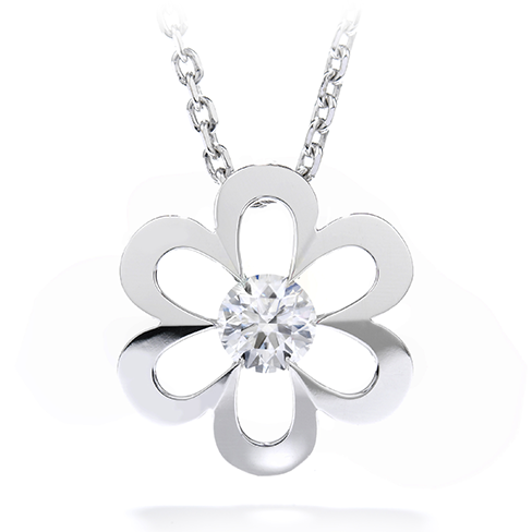 Garden high polish flower pendant mozeypictures Image collections