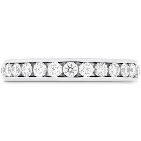 HOF Channel Diamond Eternity Band 25
