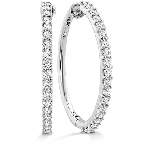 HOF Classic Diamond Hoop - Large