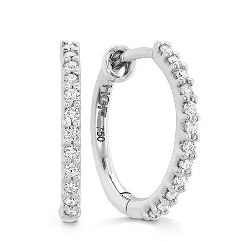 HOF Classic Diamond Hoop - Small
