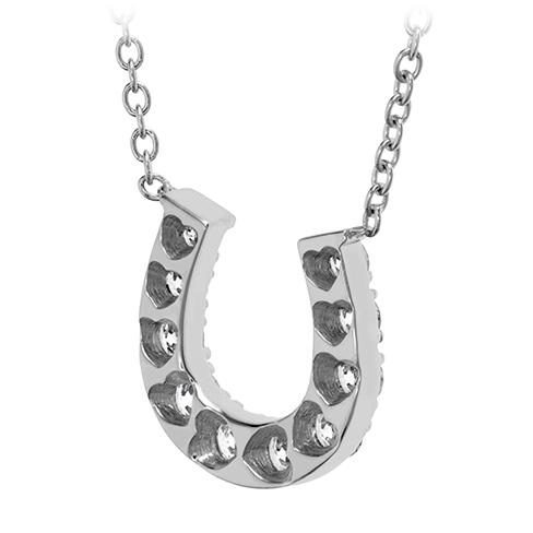 HOF Diamond Horseshoe Necklace