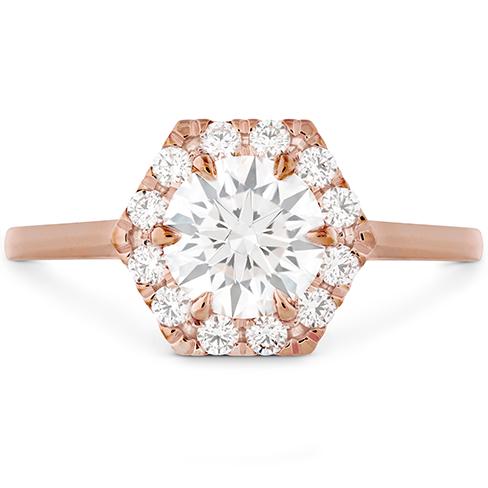 HOF Hexagonal Engagement Ring