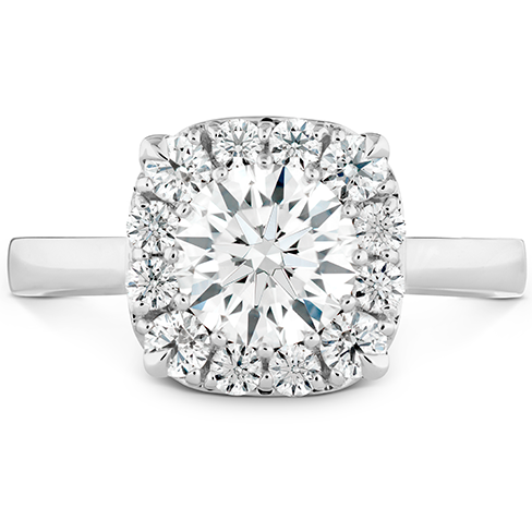 HOF Signature Custom Halo Engagement Ring