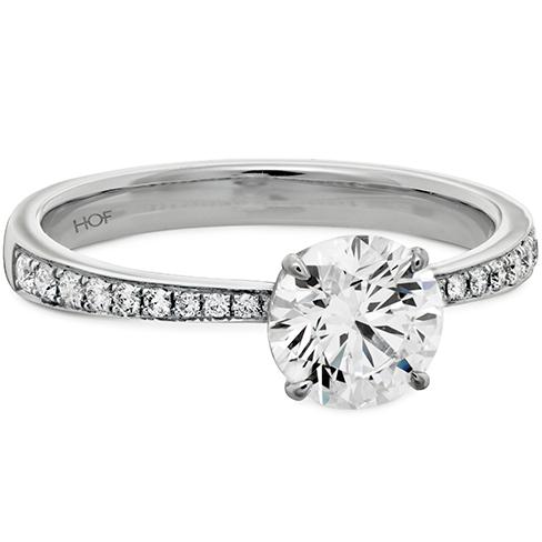 HOF Signature Engagement Ring-Diamond Band
