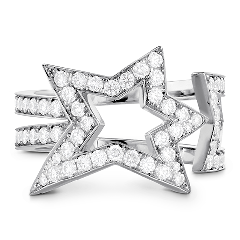 Illa Diamond Open Comet Ring