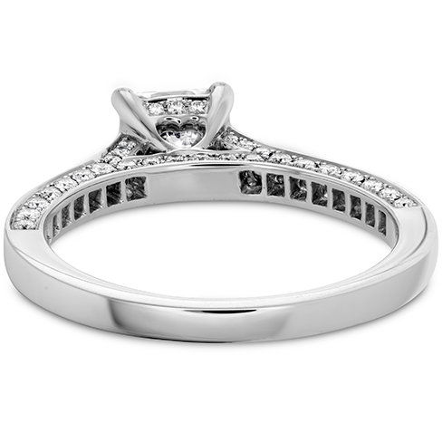 Illustrious Dream Engagement Ring-Diamond Intensive Band