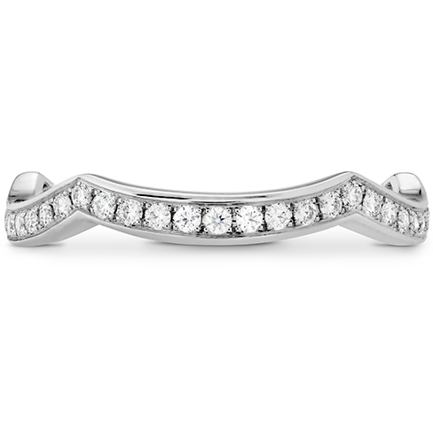 Illustrious Twist Diamond Band