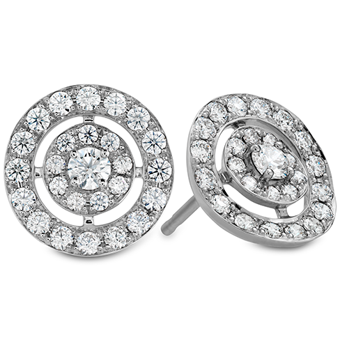 Inspiration Double Halo Stud Earrings