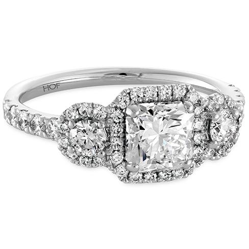 Integrity Three-Stone Engagement Ring