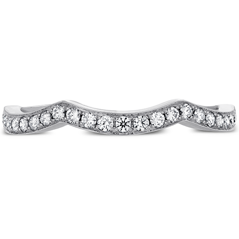 Intertwining Diamond Band