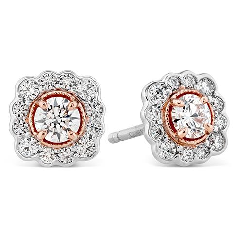 Liliana Flower Stud Earrings