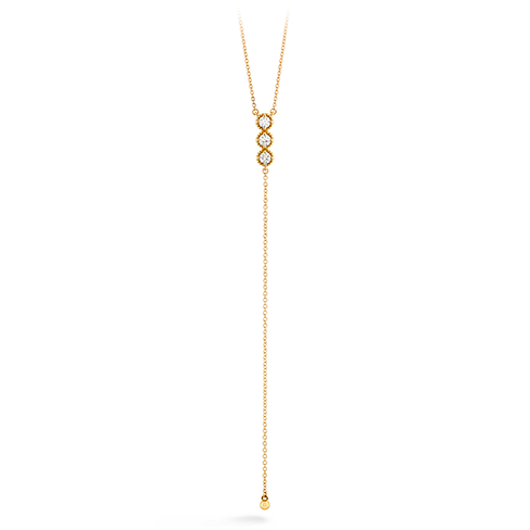 Liliana Milgrain Diamond Lariat Necklace