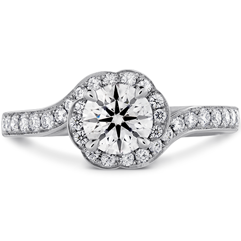 Lorelei Bloom Engagement Ring Diamond Band