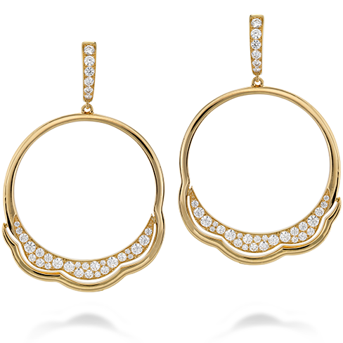 Lorelei Circle Earrings