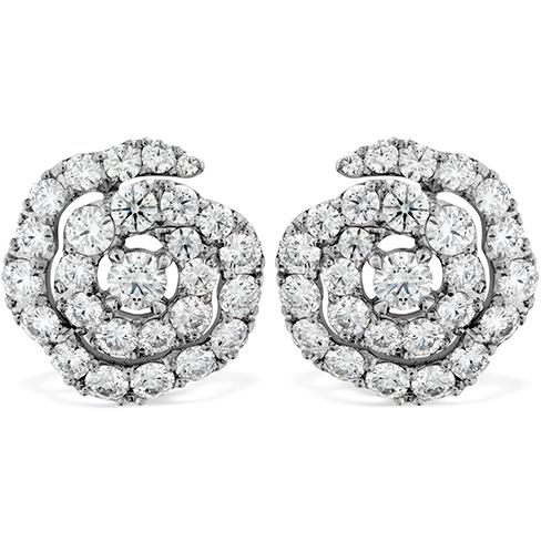 Lorelei Diamond Floral Earrings
