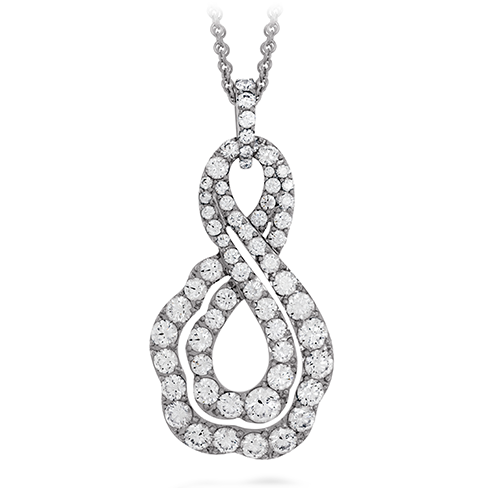 Lorelei Diamond Infinity Pendant